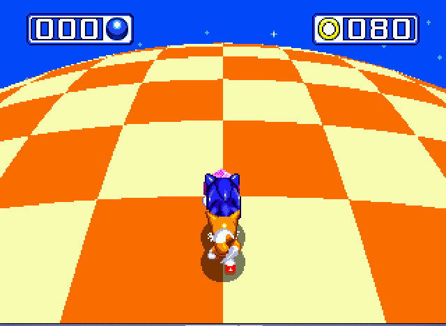 Sonic and Knuckles & Sonic 3 - chaos emerald 3 - User Screenshot